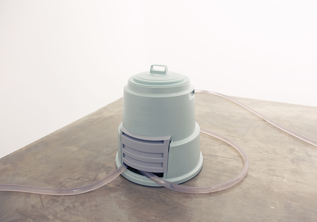 'River' Litter bin, pump, hosepipe, water, bell Dimension variable 2013