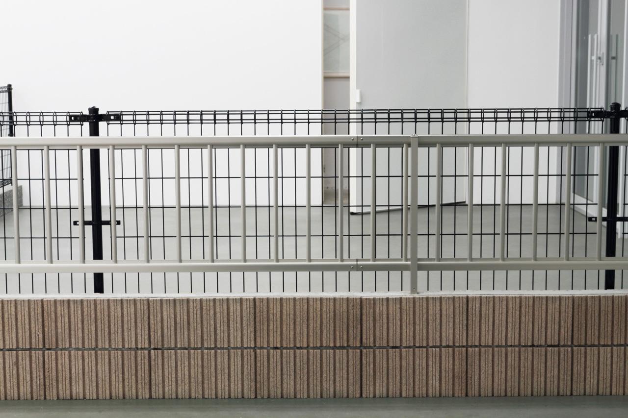 'Valley' Fence, concrete brock 2016