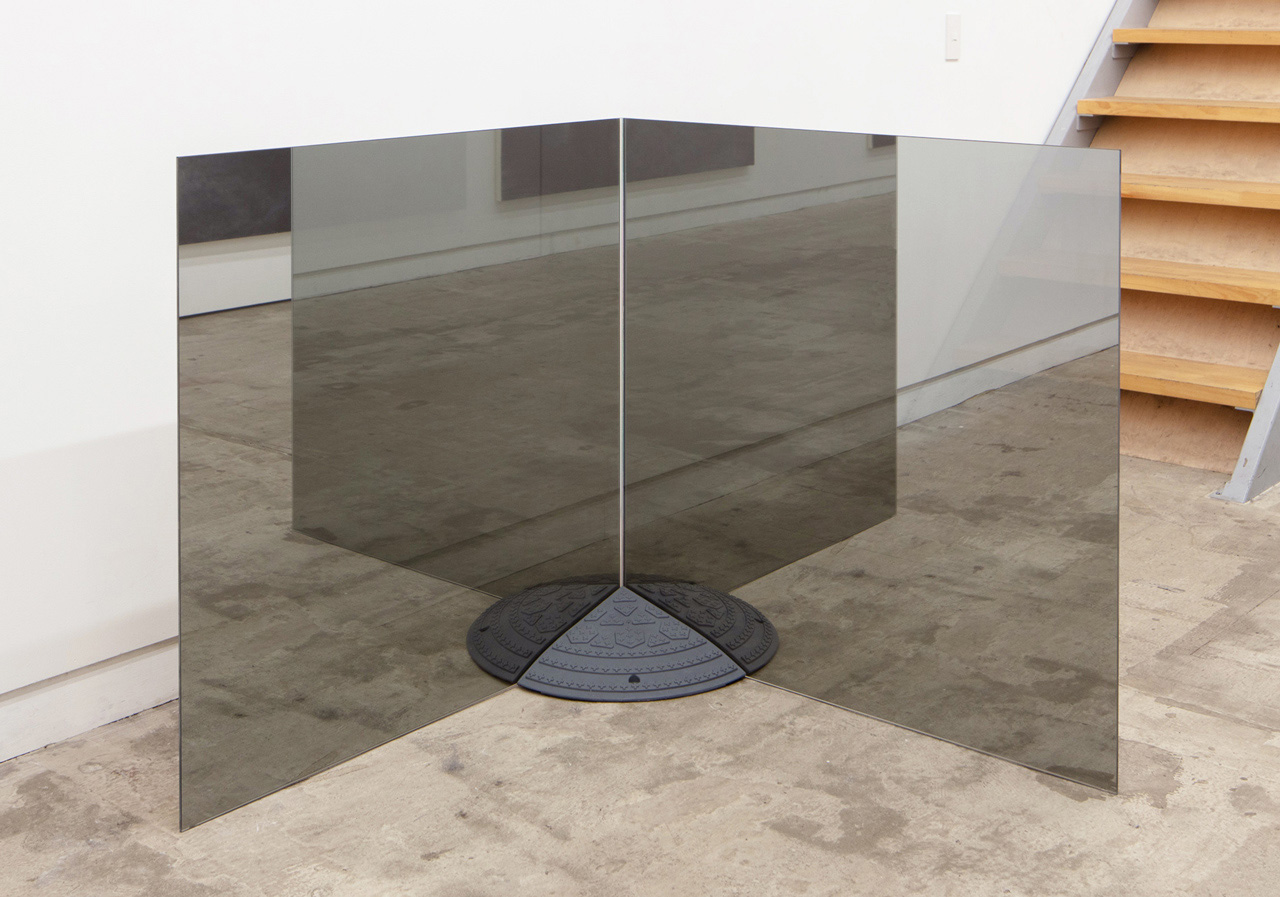 'Mound' Window glass, plastic ramp 916×916×910 mm 2020